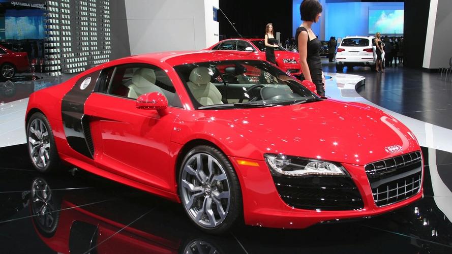 Audi R8 V10 5.2 FSI Quattro World Debut At Detroit Auto Show