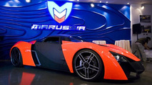 Marussia Moscow showroom grand opening, Marussia B2, 618, 10.09.2010