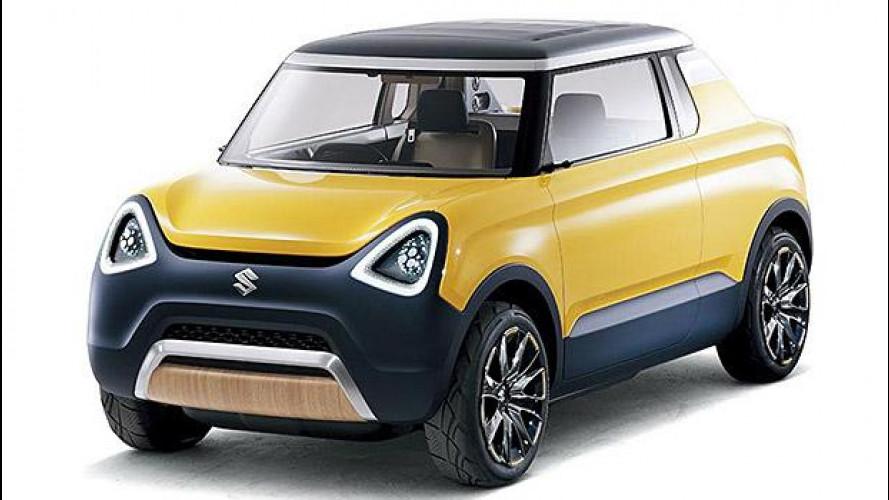 Suzuki Mighty Deck concept, pick-up tascabile
