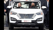 Hyundai Santa Fe, la Papamobile di Francesco