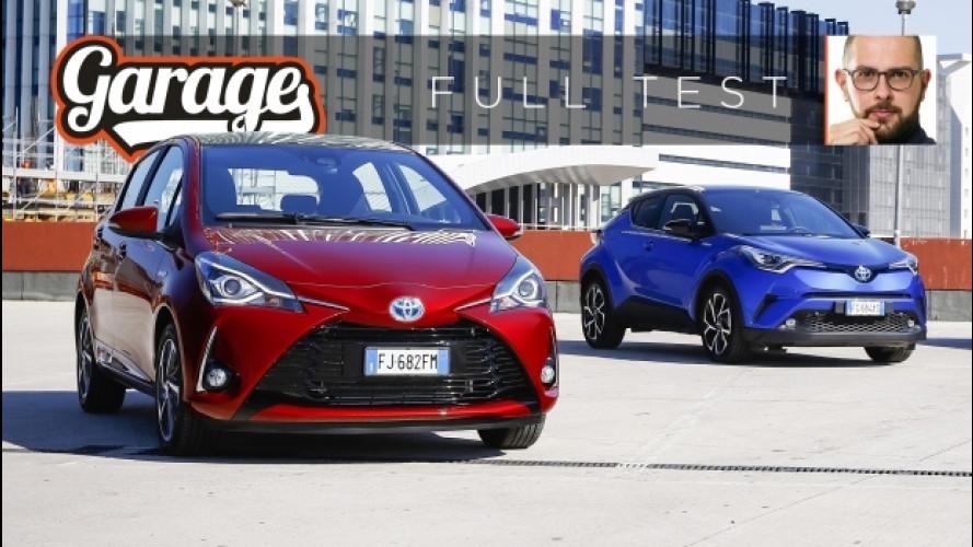 Toyota ibride, la prova di Yaris e C-HR [VIDEO]