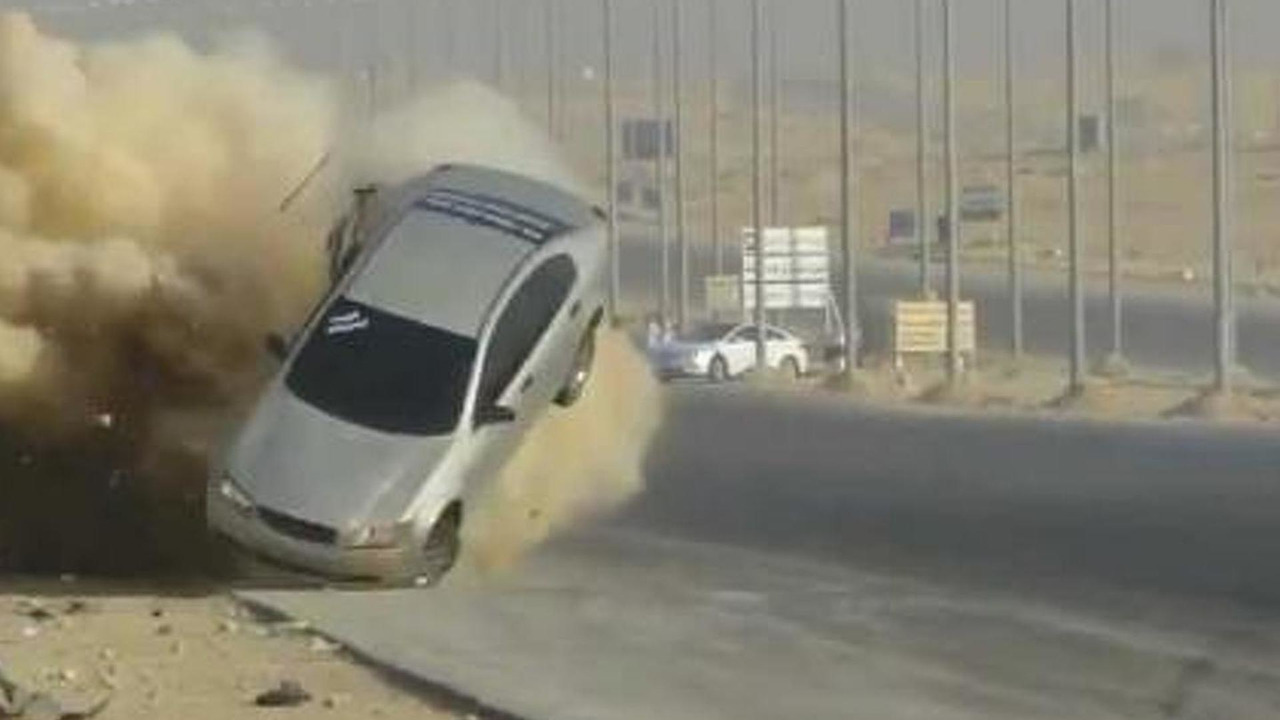 Saudi Arabia drift accident