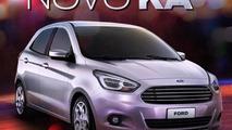 2014 Ford Ka production version (BR-spec)