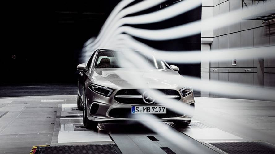 Mercedes A-Class Sedan Teased: Most Aerodynamic Production Car