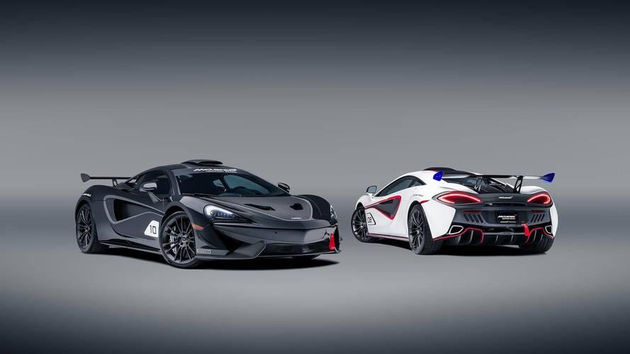 570S GT4 race cars get official McLaren conversion