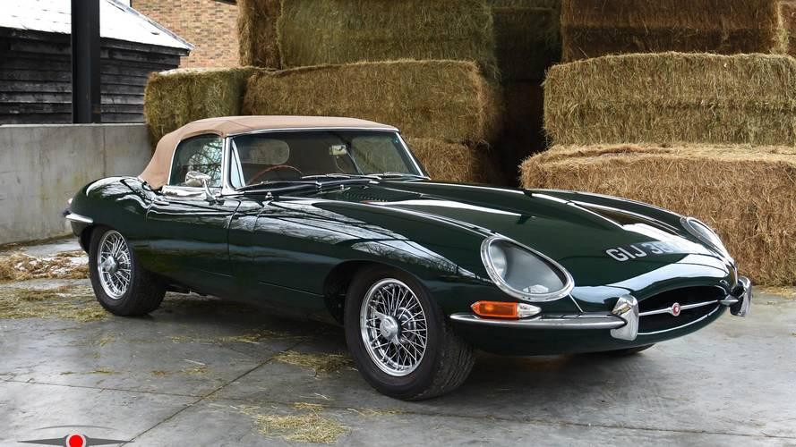 Çok Nadir bu Jaguar E-Type satışta