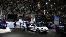 Alpine A110 Pure, Legende - 2018 Cenevre Otomobil Fuarı