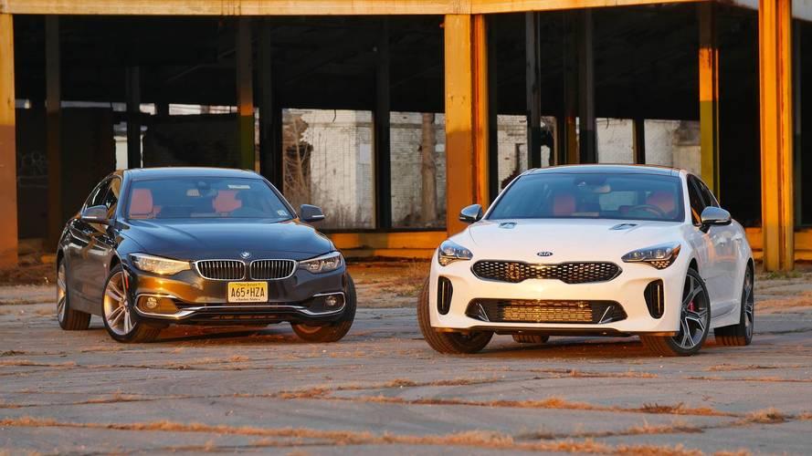 BMW 430i Gran Coupe vs. Kia Stinger: Sakin, çılgına karşı