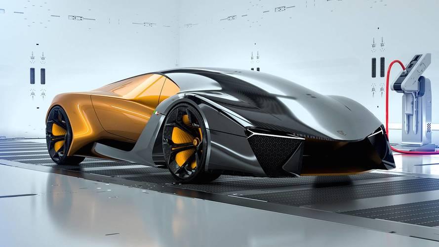 lamborghini future car. lamborghini belador concept future car