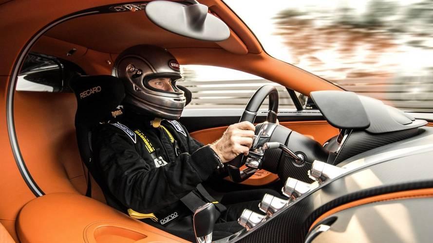 Le nouveau PDG de Bugatti découvre la Chiron... et son potentiel !