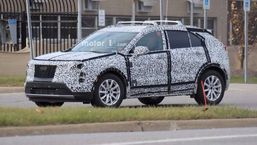 2019 Cadillac XT4 Fleet Caught Testing With Much Less Camouflage