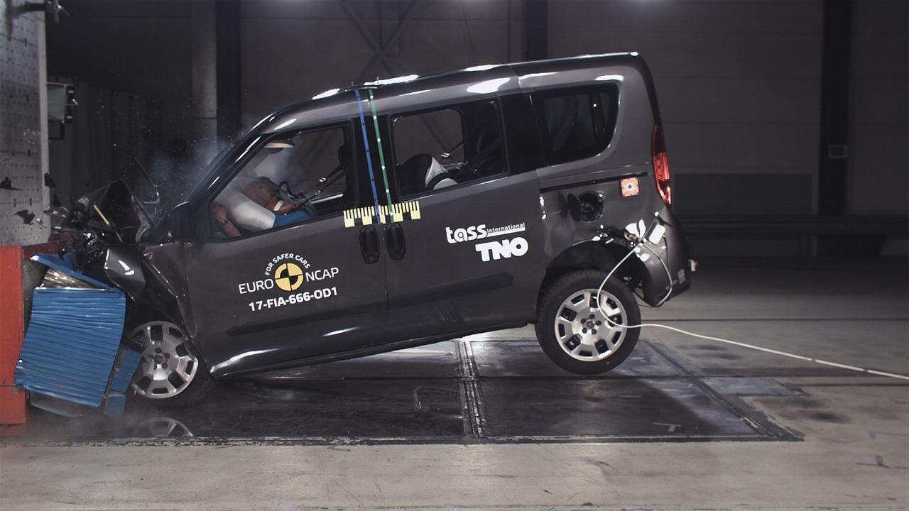 2017 Fiat Doblo Euro NCAP Crash Test