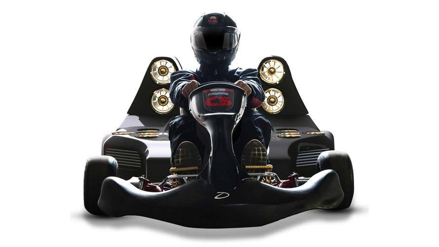 Yeni elektrikli go-kart 97 km/s hıza 1.5 saniyede ulaşıyor!