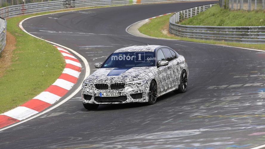 2018 BMW M5 Continues Camo Striptease In Latest Spy Photos