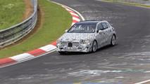 Mercedes-Benz Class A 2019 - flagra em Nurburgring