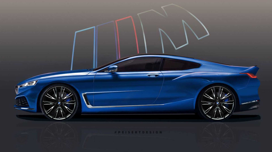 See The BMW 8 Series Take Shape In Teaser-Based Render