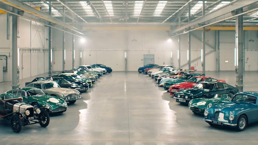VIDÉO - Les plus belles Aston Martin pour la nouvelle usine !