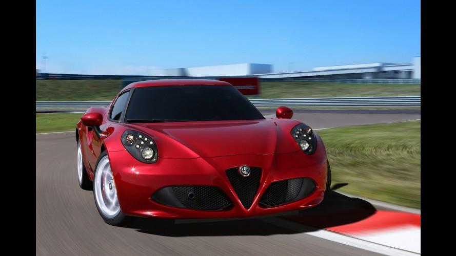 Galeria: Alfa Romeo 4C combina 240 cavalos com menos de 900 kg