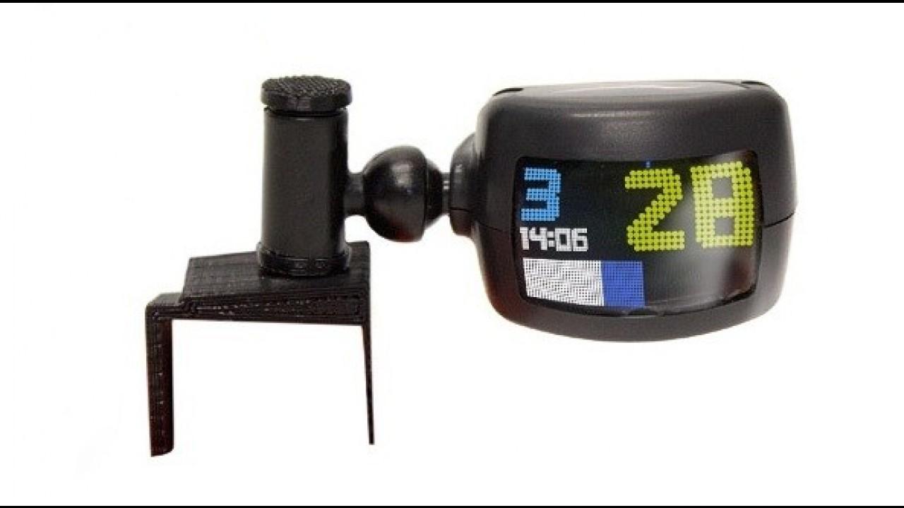 BikeHud é projeto de Head-up Display para motos - assista ao vídeo