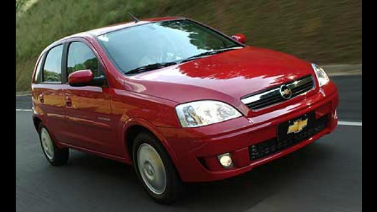 Chevrolet Corsa deixa de ser fabricado no Brasil - Negociação com sindicato é complicada