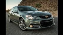 Chevrolet SS, com 415 cv e tração traseira, terá opção de câmbio manual nos EUA