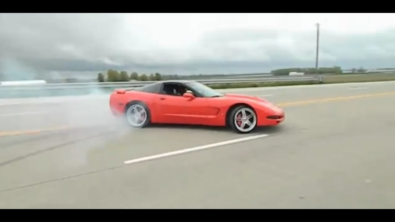 Vídeo: o que não fazer ao volante de um Corvette