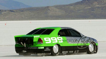 Ford Fusion Hydrogen 999 at Bonnevile Salt Flats