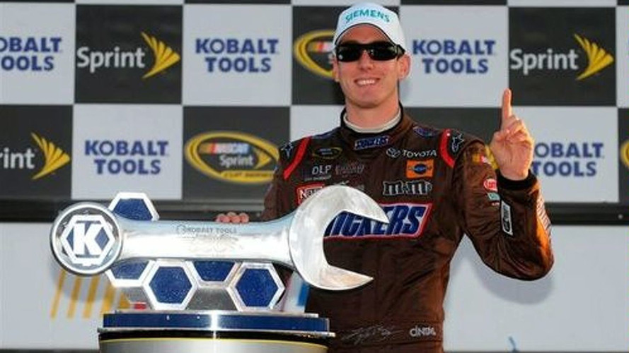 Toyota Wins First NASCAR Race