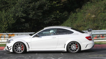 Mercedes C63 AMG Black Series Coupe spy photo - 23.8.2011