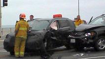 2012 Honda CR-V prototype in accident - 29.7.2011