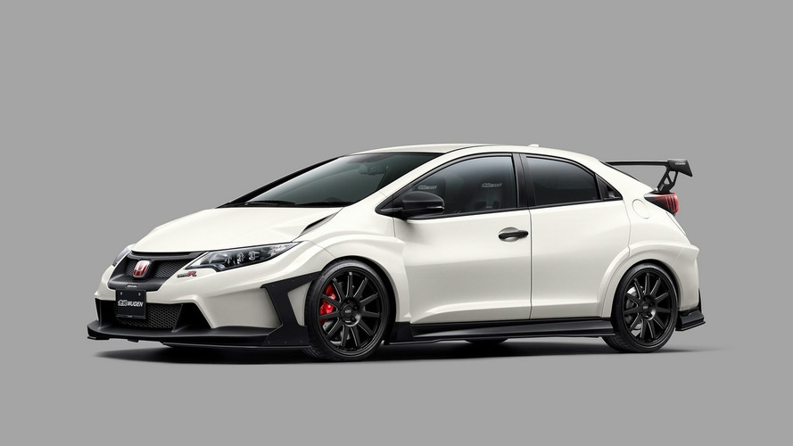 Tuners customize Honda Civic Type R for Tokyo Auto Salon
