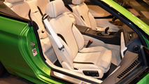 BMW 650i Convertible Java Green / BMW Abu Dhabi