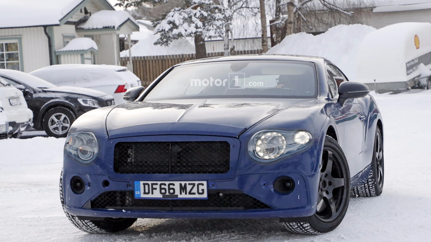 2018 Bentley Continental GT spy photos