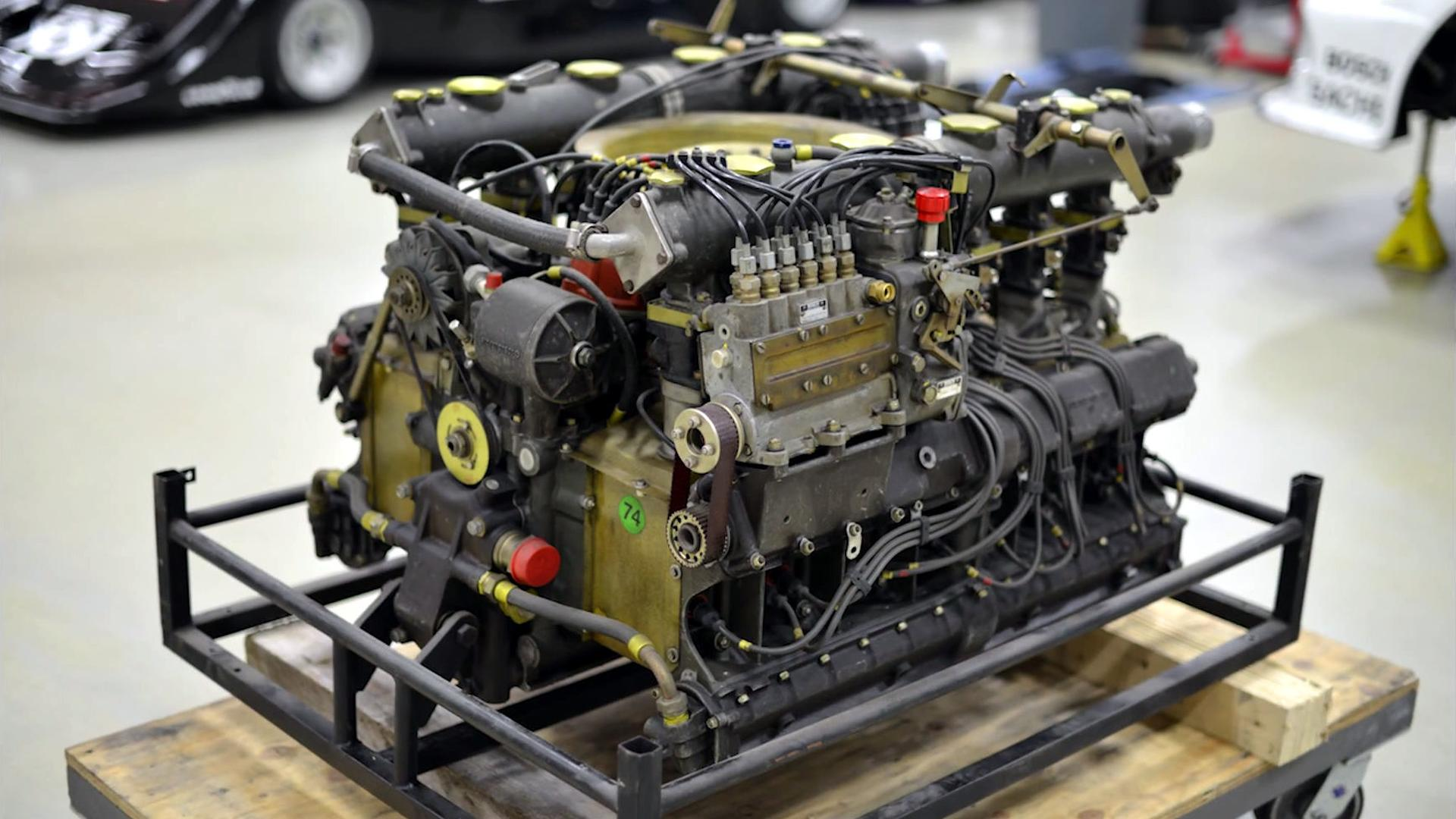 Watch A Porsche 917 Flat-12 Engine Rebuilt In 3 Minutes
