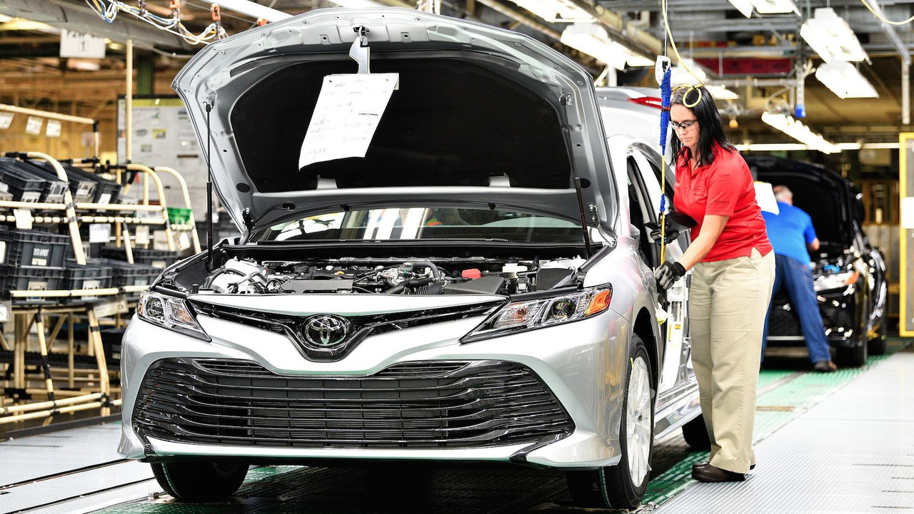 2018 Toyota Camry Production