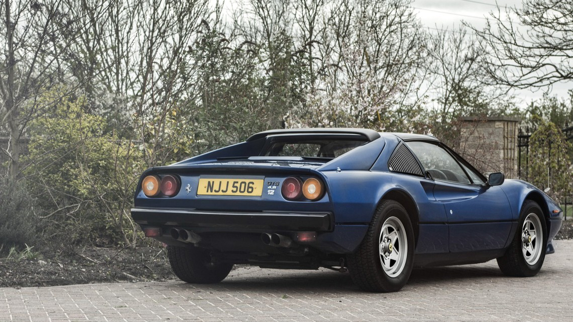 1985-ferrari-308-gts-qv-with-v12-engine Surprising Ferrari Mondial 8 A Vendre Cars Trend