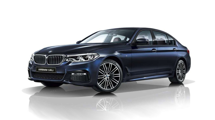 BMW 5 Series Li Long Wheelbase Revealed... For China
