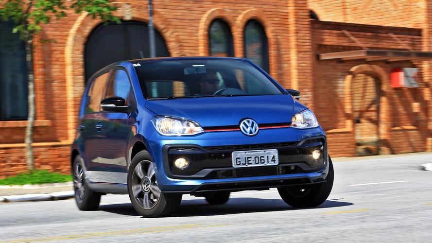 VW up! 2018 fica mais caro em quase todas as versões