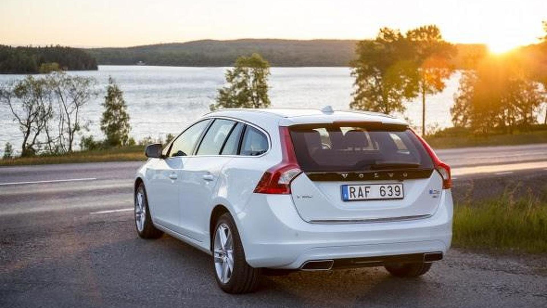 Polestar squeezes more power from volvo v60 d6 plug in hybrid sciox Gallery