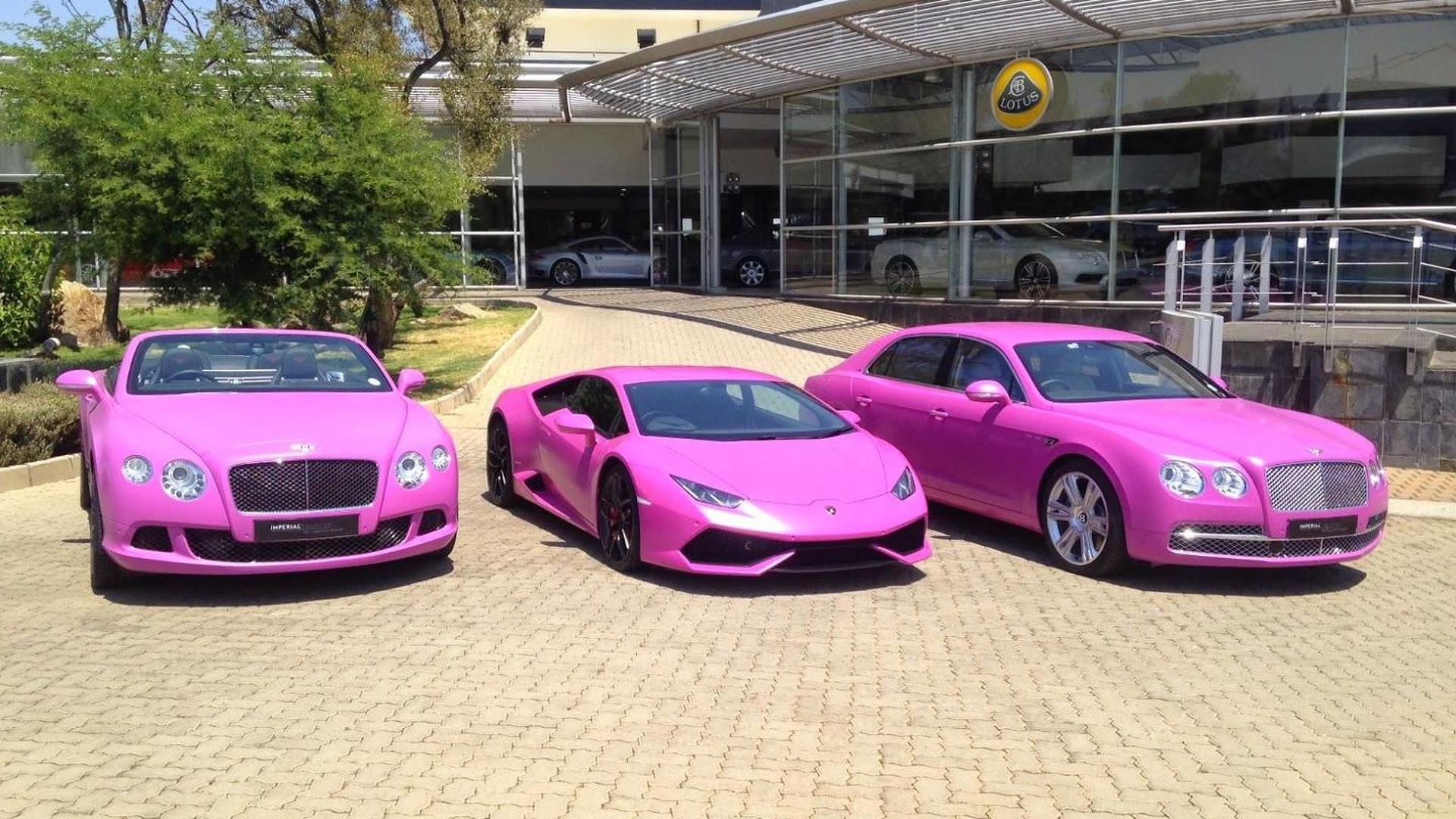 Розовые автомобили от Imperial Collection