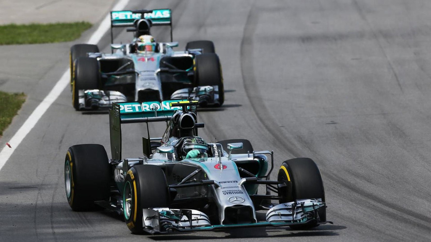 Mercedes battle rages on Red Bull turf