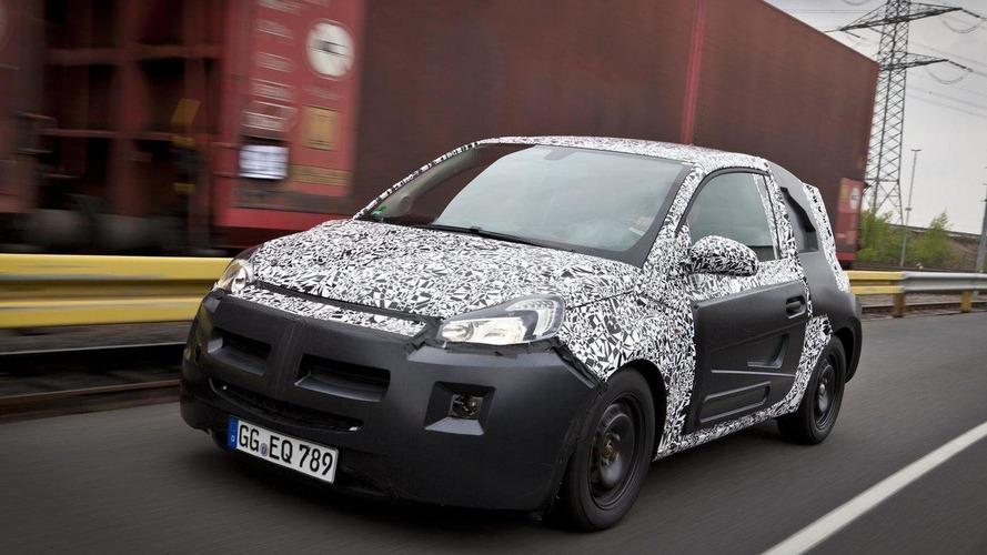 Opel / Vauxhall Adam announced