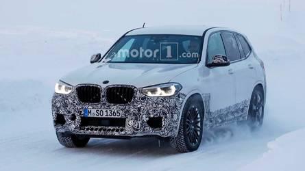 Le futur BMW X3 M est toujours en cours de développement