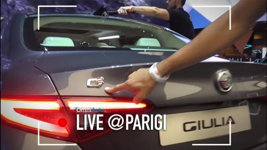 Salone di Parigi, l'Alfa Giulia Q2 ha l'autobloccante [VIDEO]