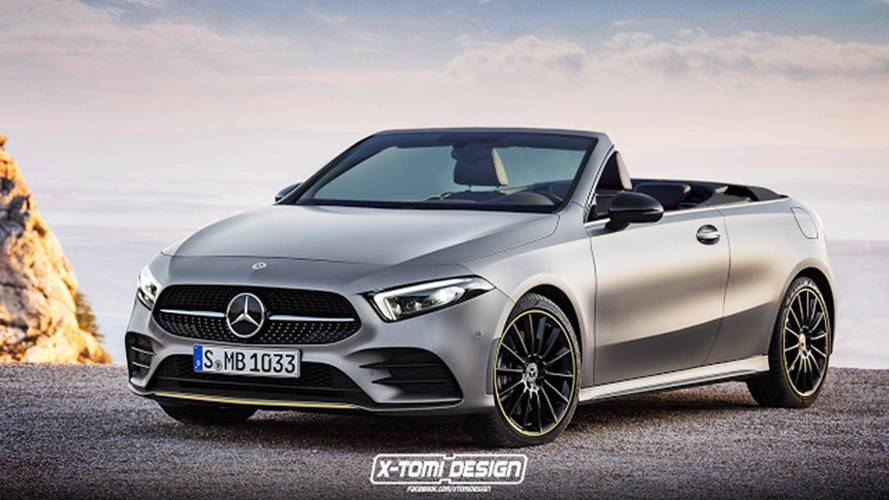 Mercedes-Benz A-Class Rendering Imagines Hatchback As Cabrio