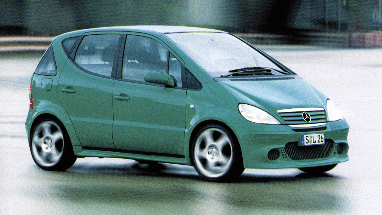 Mercedes A-Klasse: HyPer, HyPer