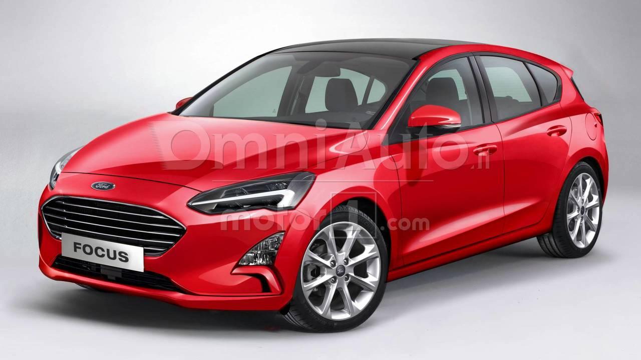 Nuova Ford Focus, il rendering