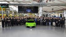 Lamborghini Huracan 10.000. üretim