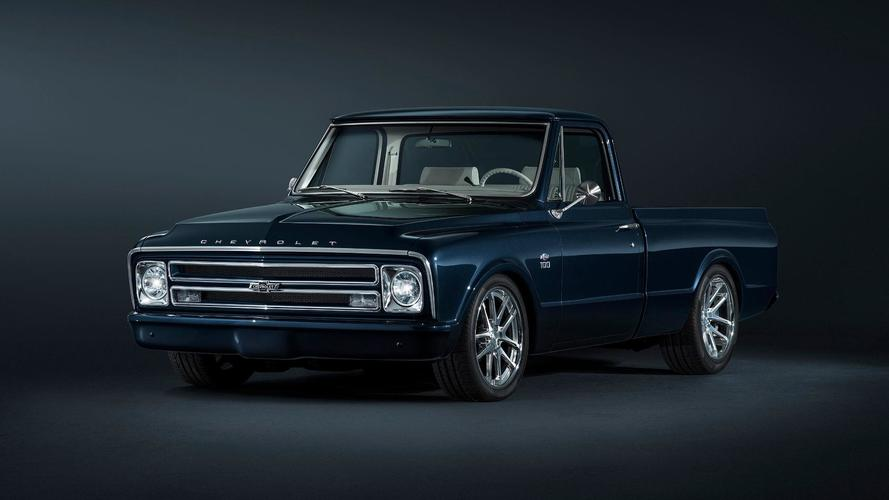 Chevy Builds Beautiful 1967 Restomod C-10 Pickup For SEMA