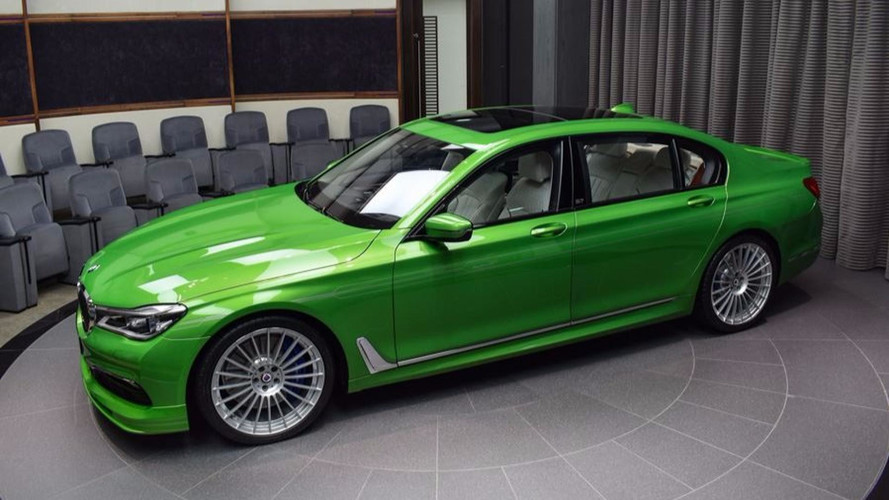 Alpina B7 Java Green